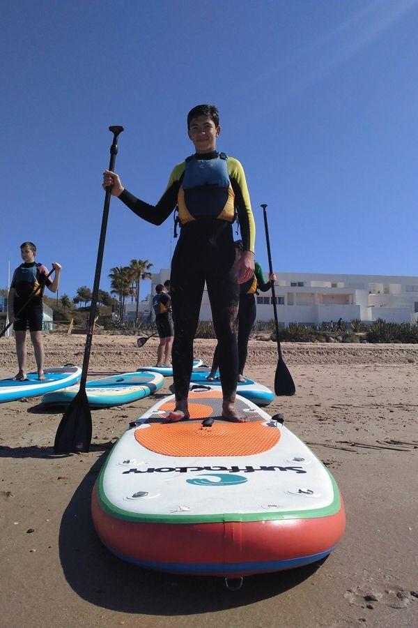 viajes-fin-de-curso-playa-nerja-paddle-surf
