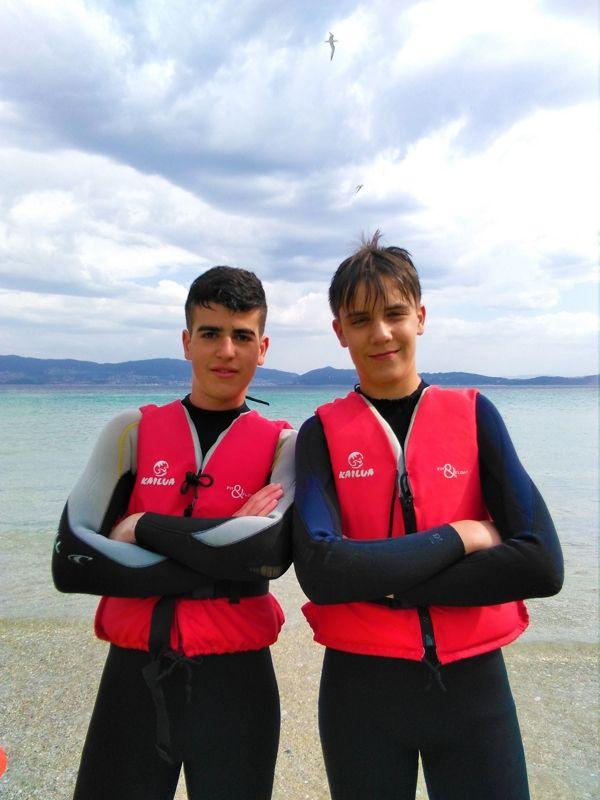 viajes-fin-de-curso-playa-portonovo-adolescentes
